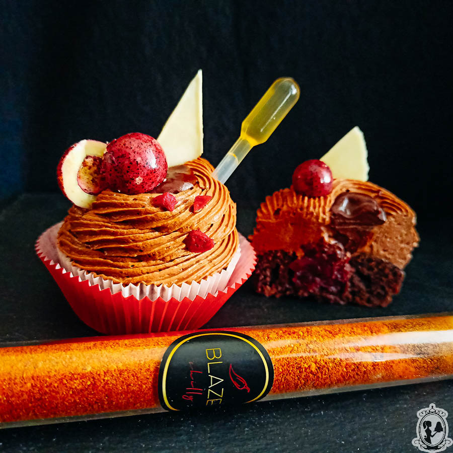 Chilli cupcake