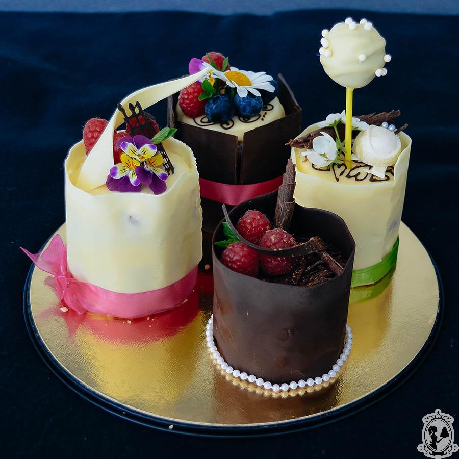 Porcijske torte